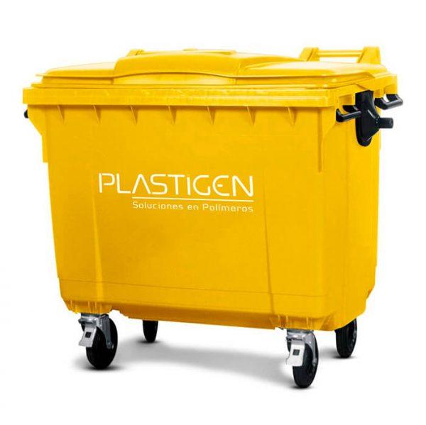 Contenedor de basura grande